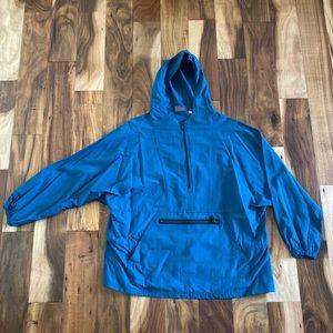 Woolrich windbreaker pullover jacket hood vintage